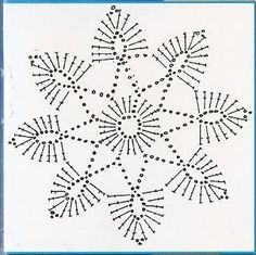 Karolina Didiova images and analytics Crochet Snowflake Pattern, Crochet Stars, Christmas Crochet Patterns, Crochet Snowflakes, Granny Square Crochet Pattern, Crochet Cross, Crochet Mandala, Crochet Flower Patterns, Crochet Diagram