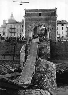 ponte vecchio bombardato