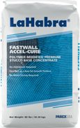 Excellent as a base for smooth finishes. No moist curing required. High PSI. High tensile strength. Under normal conditions, ready to accept finish after 24 hours. Fastwall Accel-Cure is a factory controlled high-quality blend of portland cement, lime, fibers and proprietary additives that conforms to ASTM C926. ASTM C897 or ASTM C144 sand is added at the job site. Can be installed up to 1/2 in. (12.7mm) in one application.