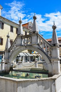 Da Ponte Fountain - Koper, Slovenia.