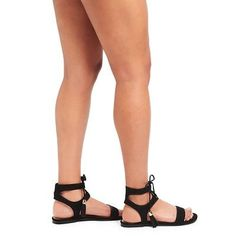 Women's Mavis Gladiator Sandals Merona - Taupe (Brown) 6.5