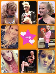 Dance Moms collage Paige Hyland by hahaH0ll13