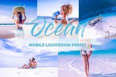 Bright Travel Mobile Presets Ocean My Settings, Edit Your Photos, Design Bundles, School Design, Lightroom Presets, Photo Credit, Commercial, Ocean