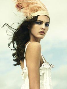 Vogue Italia, March 2009 by Greg Kadel