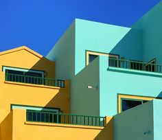 Playing With Colors And Architectures – Fubiz Media