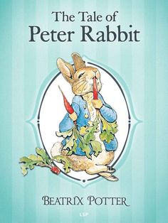 """Read """"The Tale of Peter Rabbit"""" by Beatrix Potter available from Rakuten Kobo. One morning old Mrs Rabbit tells her children that they may go into the fields or down the lane, but not into Mr McGrego. Peter Rabbit Books, Peter Rabbit Party, Peter Rabbit And Friends, Coelho Peter, Tales Of Beatrix Potter, Beatrix Potter Illustrations, Beatrice Potter, Rabbit Illustration, Lara Croft"""