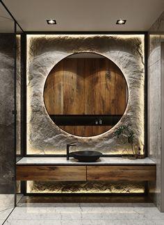 Washroom Design, Toilet Design, Bathroom Design Luxury, Home Room Design, Interior Design Living Room, Wc Decoration, Luxury Toilet, Washbasin Design, Bathroom Design Inspiration
