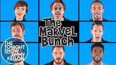"Avengers: Infinity War Cast Sings ""The Marvel Bunch"""