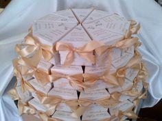 00147 - Tortaszelet köszönetajándék - Tortaszelet köszönetajándék - vendégajándék - Esküvői köszönetajándék-vendégajándék - Webáruház - Esküvői meghívó, esküvői vendégkönyv, ültető és menükártya, köszönetajándék