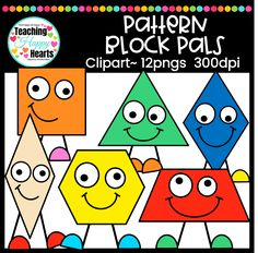 Pattern Blocks Clipa