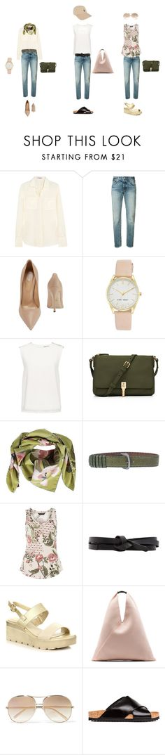 """2 разбор капсулы 1"" by yatak on Polyvore featuring мода, Valentino, Levi's, Sergio Rossi, Nine West, Finders Keepers, Elizabeth and James, Romeo Gigli, Dorothy Perkins и Isabel Marant"