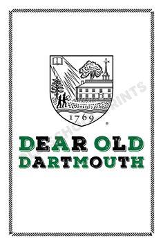 Dartmouth College Crest Print