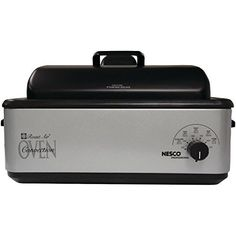 The Nesco 12 Qt. Roaster Oven is a portable, go anywhere, second oven with added benefit and speed of Convection Air Flow. It's more energy efficient than traditional ovens and faster than most roaster ovens. This oven roasts, bakes, steams and slow cooks. Combines the speed and browning of... - http://kitchen-dining.bestselleroutlet.net/product-review-for-nesco-4842-47-professional-roast-air-roaster-oven-with-convection-12-quart/