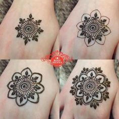 Henna Design Step by Step Images Gallery - Latest Easy Henna Tattoo Designs Step by Step for beginner. this is the best henna design that easy to draw Henna Hand Designs, Small Henna Designs, Mehndi Designs Finger, Henna Tattoo Designs Simple, Basic Mehndi Designs, Latest Henna Designs, Floral Henna Designs, Mehndi Designs 2018, Mehndi Designs For Beginners