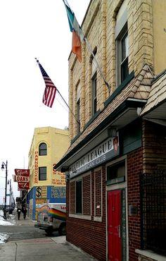 Gaelic League Irish-American Club in the Corktown neighborhood of Detroit, MI