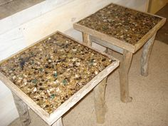 Driftwood Ocean Artifacts Stand by DriftwoodTreasures on Etsy, $299.00