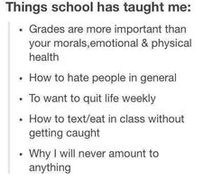 The truly sad thing is how true this is