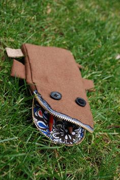 Pencil case-monster! (a cute one, that is) - PURSES, BAGS, WALLETS