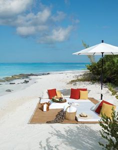 We saved a seat for you at Parrot Cay - Turks and Caicos #Caribbean