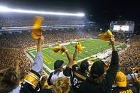 Heinz Field in Pittsburgh, PA.  Here We Go Steelers!  Here We Go!