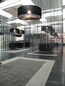 liam mooney upper east side podium #southafrican #design Upper East Side, Reception Areas, Restaurant Design, Light Up, Design Elements, Coffee Shop, Ceiling Lights, Interior Design, Architecture