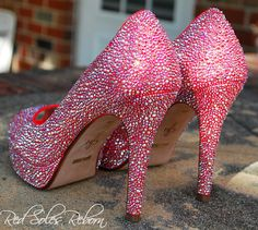 Cole Haan peeptoes strassed in Hyacinth Swarovski crystals @Har-Man Importing Stiletto Heels, High Heels, Glitter Pumps, Cole Haan, Affair, Swarovski Crystals, Shoes, Fashion, Moda
