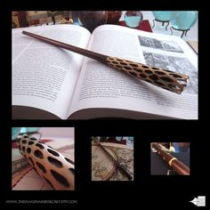 13 1/4 Wood wand No. 73-300 harry potter wand