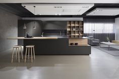 How To Incorporate Contemporary Style Kitchen Designs In Your Home Modern Kitchen Cabinets, Kitchen Cabinet Design, Modern Kitchen Design, Interior Design Kitchen, Design Your Dream House, House Design, Distressed Kitchen, Küchen Design, Dining Room Design