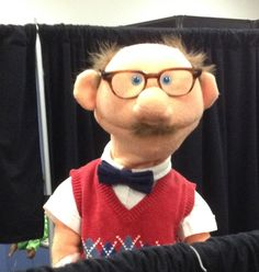 """Ed"" by PJ's Puppets.   www.pjspuppets.com -- custom professional puppets"