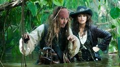 « Pirates des Caraïbes : la fontaine de jouvence », avec Johnny Depp et Penelope Cruz Photo : AP Photo/Disney/Peter Mountain