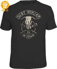 Grillen - Best Griller in Town - T-Shirt - Größe XXL - T-Shirts mit Spruch | Lustige und coole T-Shirts | Funny T-Shirts (*Partner-Link)