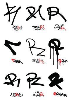Graffiti Text, Graffiti Letter R, Graffiti Lettering Fonts, Graffiti Doodles, Graffiti Tagging, Graffiti Murals, Street Graffiti, Graffiti Styles, Lettering Styles