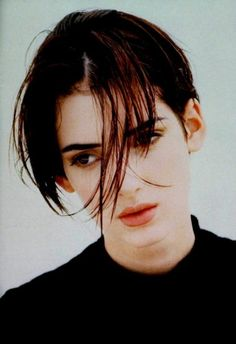 Winona Ryder. Man carved her name into his skin