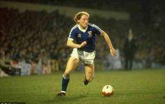 Alan Brazil of Ipswich Town in 1980.