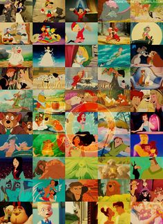 Tangled is the 50th animated movie from Walt Disney Animation Studios! Can you name the other 49?