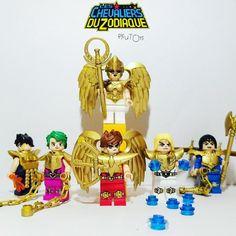 Lego Chevalier, Lego Knights, Manga, Lego Creations, Legos, Illustration, Fan Art, Cosplay, Brick