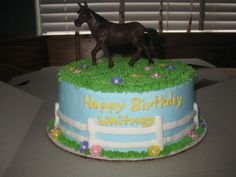 Horse Cakes For Girls Birthday | Horse Decorated Cakes