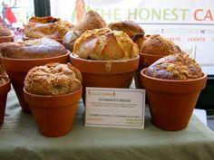 flowerpot bread at borough market #london #food