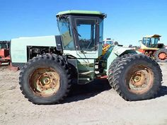 Steiger WILDCAT tractor salvaged for used parts. This unit is available at All States Ag Parts in Bridgeport, NE. Call 877-530-5010 parts. Unit ID#: EQ-23850. The photo depicts the equipment in the condition it arrived at our salvage yard. Parts shown may or may not still be available. http://www.TractorPartsASAP.com