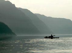 Faire du kayak de mer sur le fjord du Saguenay...