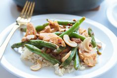 Spicy chicken and green beans - Life with the Champions