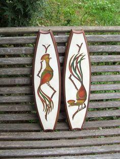 Pair of  Vintage Angeli Artcraft Chalkware by lookonmytreasures