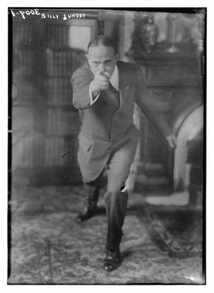 Billy Sunday (LOC) by The Library of Congress, via Flickr