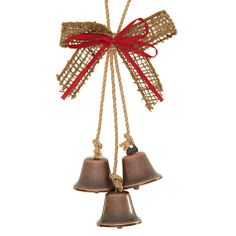 Buy John Lewis Hessian Bell Hanging Tree Decoration Online at johnlewis.com