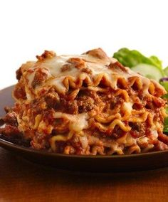 One of Betty's most popular recipes of all time! You can have lasagna any night of the week when your slow cooker is doing most of the work during the day. Best of all, there's no boiling of noodles to fuss with! For an extra kick to this classic lasagna recipe, use spicy Italian sausage instead of ground beef.