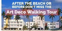 This ninety-minute walking tour provides an introduction to the Art Deco, Mediterranean Revival, and Miami Modern (MiMo) styles found within the Miami Beach Architectural Historic District. Explore hotels, restaurants, and other commercial structures with a visit to a number of interiors. All tours are $25.00 or $20.00 for seniors, veterans and students. #MDPLTOURS   Powered …