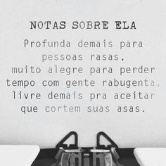 #frases #notassobreela