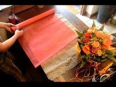 花束とラッピング4 作り方 フローリストいかるが Florist Ikaruga - YouTube
