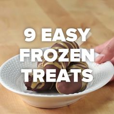 9 Easy Frozen Treats