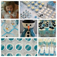 Winter Wonderland Party Food   Winter Wonderland Party!   The Kosher Home ...cute ideas for classroom ..